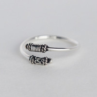Lovely Thai silver 925 sterling silver ring,a perfect gift