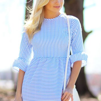So Blue Dress | Monday Dress