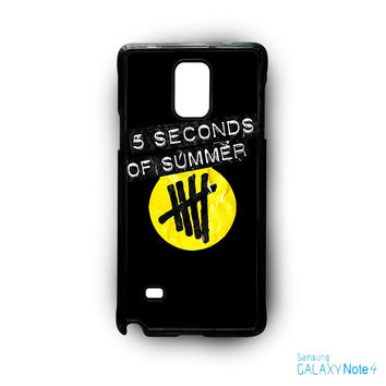 5 Second of Summer logo for phone case Samsung Galaxy Note 2/Note 3/Note 4/Note 5/Note Edge
