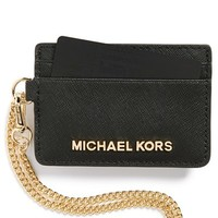 MICHAEL Michael Kors 'Jet Set' Saffiano Leather Metro Pass Case