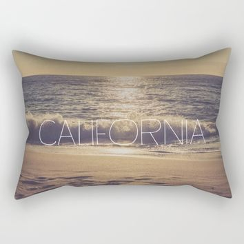 California Rectangular Pillow by All Is One