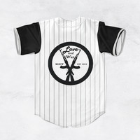 Love and War Baseball Jersey