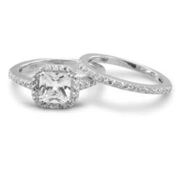 Marilyn Engagement Style Ring Set