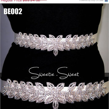 ON SALE Bridal Sash belt, Sash belt, Rhinestone Sash, Crystal Sash, Wedding Sash Belt, Wedding Belt, Wedding Sash, Bridal Satin Ribbon