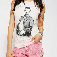 Urban Outfitters - Corner Shop Lincoln Cat Muscle Tee