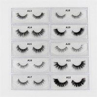 Mink Eyelashes 3D mink lashes long lasting mink eyelashes natural volume eyelashes extension false eyelashes Cruelty Free  Lash