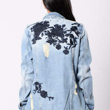 Funhouse Jacket - Medium Wash