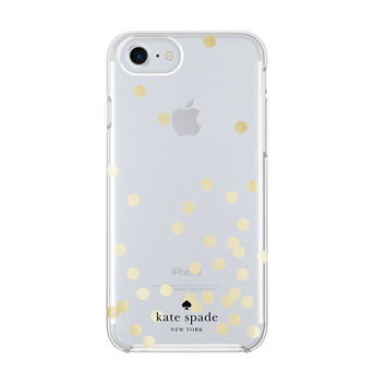 kate spade new york Protective Hardshell Case for iPhone 6 Plus Gold Dot