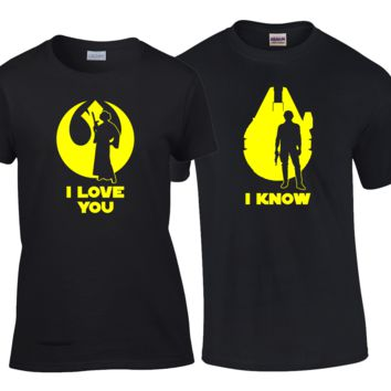 I Love You I Know Matching Couples Shirts