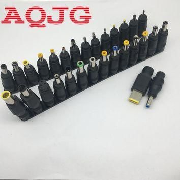 30pcs/Set Universal DC Power Supply Adapter Connector Plug DC conversion head DC jack
