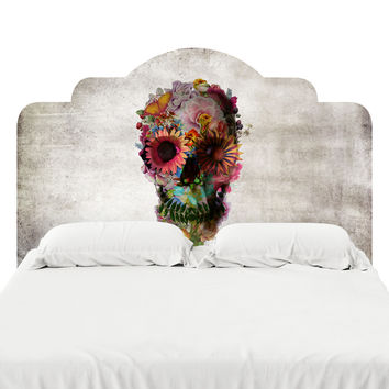 Skull 2 Headboard Decal