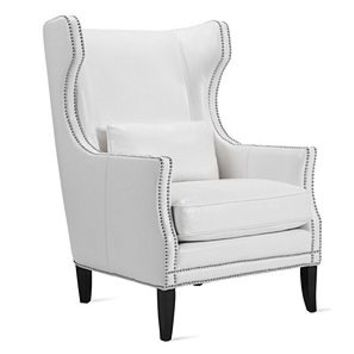 Davis Accent Chair | Leather Furniture | Furniture | Z Gallerie