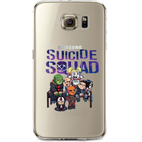 Suicide Squad Jelly Clear Case for Samsung Galaxy S7 EDGE