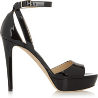 Jimmy Choo - Kayden patent-leather sandals