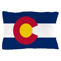 Colorado State Flag Pillow Case
