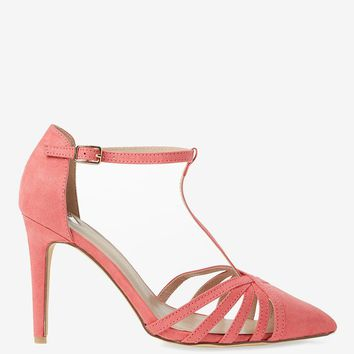 Wide Fit Pink 'Glee' Court Shoes | Dorothyperkins
