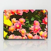 Painted Fall Flower Bouquet iPad Case by KCavender Designs