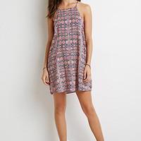 Medallion Print Cami Dress