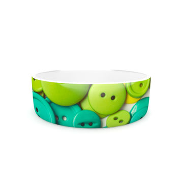 "Libertad Leal ""Cute as a Button"" Pet Bowl"