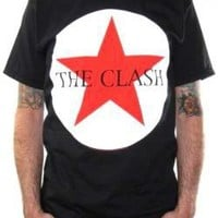 ROCKWORLDEAST - The Clash, T-Shirt, Circle Star