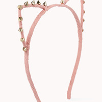 Spiked Cat Ear Headband | FOREVER 21 - 1076915400