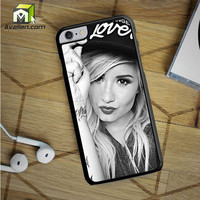 Demi Lovato Hat iPhone 6S Plus Case by Avallen