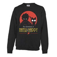 Fairy Tail - The Advantures Of Natsu & Happy - Unisex Sweatshirt T Shirt - SSID2016