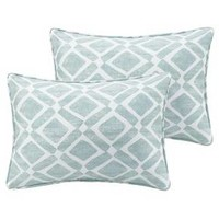 Natalie Printed Oblong Throw Pillow Pair
