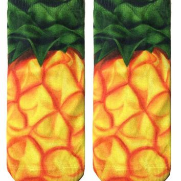 Pineapple Ankle Socks