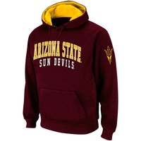 Arizona State Sun Devils Double Arches Pullover Hoodie - Maroon