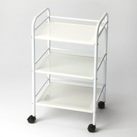 Concord Modern Serving Cart White