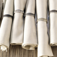 Stainless Steel Napkin Rings design by Chilewich