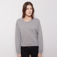 Bird Fleece Cropped Pullover by Acne Studios