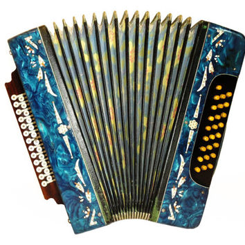 Russian Garmon, 25 x 25, Harmonika Button Bayan, Accordion Instrument, 508