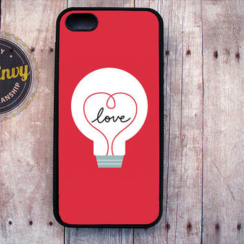 The Idea Of Love Valentine's Day Case iPhone 5 / 5s case