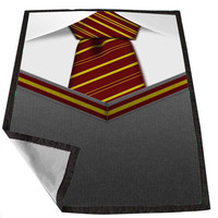 Gryffindor Tie Harry potter 876a9a6e-bbf5-45f8-ac72-bec9e3cd4d10 for Kids Blanket, Fleece Blanket Cute and Awesome Blanket for your bedding, Blanket fleece *02*