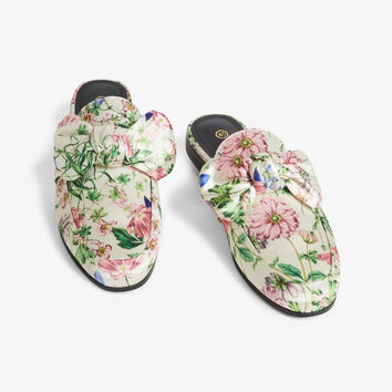 Loafer mules - Pastel meadow - Shoes - Monki GB