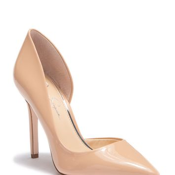 Jessica Simpson   Paryn d'Orsay Pump- Wide Width Available   Nordstrom Rack