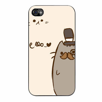 Pusheen The Cat 623 iPhone 4/4s Case