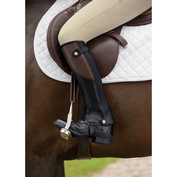 Riding Sport™ Two Tone Half Chaps   Dover Saddlery