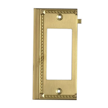Elk Lighting 2508BR Brass End Switch Plate