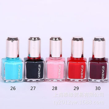 New  vintage 10pcs/set Candy Color UV Gel nail Quick-drying Nails Polish 12ML = 1958704836