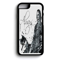 Severus Snape Harry Potter Watercolor illustrations iPhone 6 and iPhone 6s Case