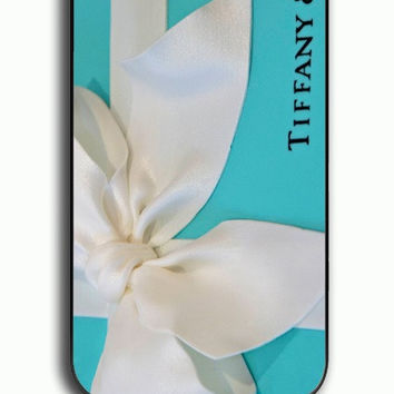 iPhone 4S Case - Hard (PC) Cover with Color Branding Tiffany Blue Box Plastic Case Design