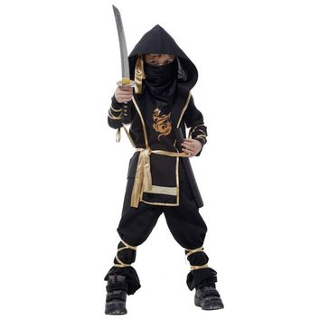 New Party Costumes Naruto Children Theme Party Costume Clothing Halloween Boys Dress Up Cosplay Costume 1 pc