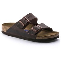 Birkenstock Arizona Soft Footbed Oiled Leather Habana 0452761/0452763 Sandals