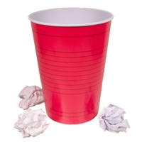 Red Party Cup Trash Bin