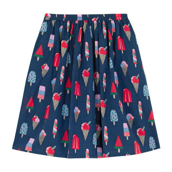 Ice Cream Cotton Skirt | Skirts | CathKidston
