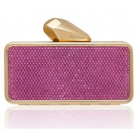 Clutch Minaudiere and now Shoes #Getsmartbag for iphone, and Gold Case with Pink Swarovski Crystals KOTUR