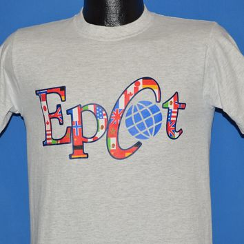 80s Epcot Walt Disney World t-shirt Small